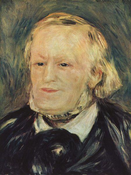 809Pierre-Auguste Renoir (1841-1919), Portrait de Richard Wagner, 1893. Huile sur toile, 40,5 x 30, 5 cm. Paris, Bibliotheque nationale de France, bibliothèque-musée de l'Opera.