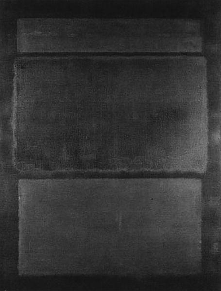 996Mark Rothko (1903-1970), N° 14 (Browns over Dark), «N° 14 (Bruns sur sombre) », 1963. Huile et acrylique sur toile, 228,5 x 176 cm. Paris, musée national d'Art moderne - Centre Georges-Pompidou.