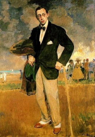 811Jacques-Émile Blanche (1861-1942), Igor Stravinsky, compositeur, 1915. Huile sur toile, 175 x 124 cm. Musée d'Orsay.