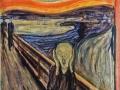 13Edvard Munch (1863-1944) Le cri (1910 ?) Détrempe, huile et pastel sur carton H. : 83,5 cm ; L. : 66 cm Oslo, Munch Museet.