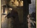 216Arnold Böcklin (1827-1901) L'ermite jouant du violon  1884 Huile sur bois H. : 90 cm ; L. : 69 cm Berlin, Alte Nationalgalerie