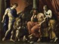 404François Perrier (vers 1594-1650) Orphée devant Hadès et Perséphone Vers 1647-1650 Huile sur toile H. : 54 cm ; L. 70 cm Paris, musée du Louvre