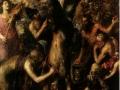 409Titien (vers 1488-1576) Le supplice de Marsyas 1575-1576 Huile sur toile H. : 212 cm ; L. : 207 cm  Kromeriz, Musée national