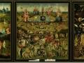 605Jérôme Bosch (vers 1450-1516) panneau central du triptyque Le chariot de foin, vers 1516