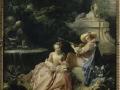 704François Boucher (1703-1770), La leçon de musique, 1749. Huile sur toile, 65 x 57,9 cm. Paris, musée Cognacq-Jay.