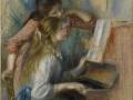 715Auguste Renoir (1841-919), Jeunes filles au piano, vers 1892. Huile sur toile, 112 x 79 cm. Paris, musée de l'Orangerie.