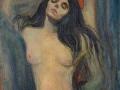 718Edvard Munch (1863-1944) Madone (La broche) 1903
