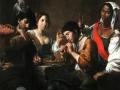 724Valentin de Boulogne (1594-1632), Réunion dans un cabaret, vers 1625. Huile sur toile, 96 x 133 cm. Paris, musée du Louvre.