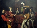 725Nicolas Tournier (1590-1639), Le concert, vers 1632-1638. Huile sur toile, 1,88 x 2,26 m. Paris musée du Louvre