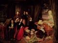 726Josef Danhauser (1805-1845), Liszt au piano (Liszt am Flugel), 1840 (sur commande du facteur Conrad Graf). Huile sur bois, 119 x 167 cm. Berlin, Nationalgalerie.