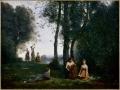 731Jean-Baptiste Camille Corot (1796-1875), Le concert champêtre, 1857. Huile sur toile, 98 x 130 cm. Chantilly, musée Condé.