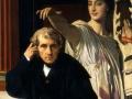 805Jean Auguste Dominique Ingres (1780-1867), Le compositeur Cherubini et la muse de la Poésie lyrique, 1842. Huile sur toile, 105 x 94 cm. Paris, musee du Louvre.
