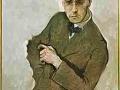 815Max Oppenheimer (1885-1954), Anton von Webern, 1910. Huile sur toile, 80 x 70 cm. Wuppertal, Von der Heydt-Museum.