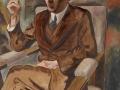 905George Grosz (1893-1959), Portrait de Walter Mehring, 1926. Huile sur toile, 90 x 80 cm. Anvers, musée des Beaux-Arts.