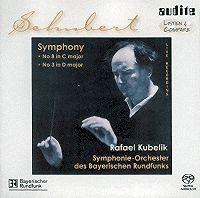 Schubert 9 the great - Kubelik - Symphonie-orchester des Bayerischen Rundfunk - Audite