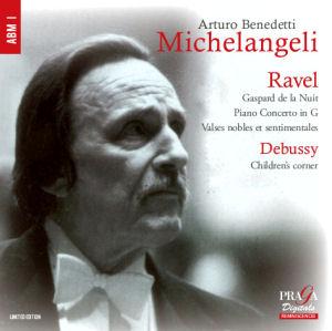 Arturo Benedetti Michelangeli - Debussy - Ravel
