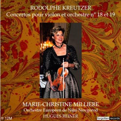 Marie-Christine Milliere - Kreutzer concertos