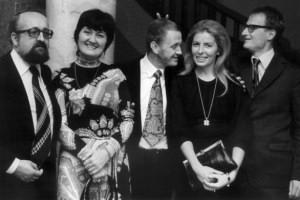 Halina Lukomska - 2nd left -from http://www.krzysztofpenderecki.eu