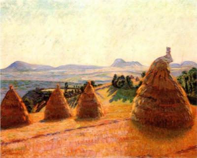 "Armand Guillaumin - ""Le Plateau Bromont A Pontgibaud"""