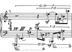 Klavierstück 1 - Groupe 1