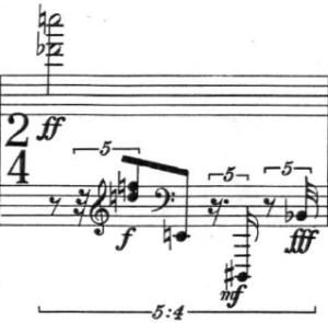 Klavierstücke 1 - Groupe 2