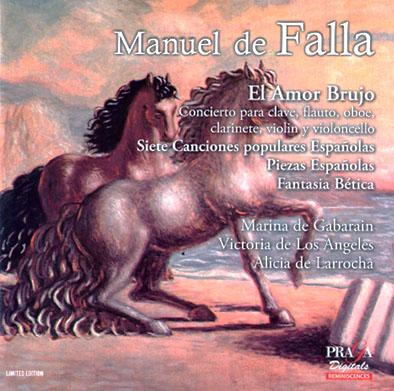 Manuel de Falla - Praga digitals