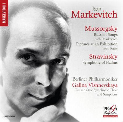 Igor Markevitch - Moussorgsky - Stravinsky ( Praga Digitals