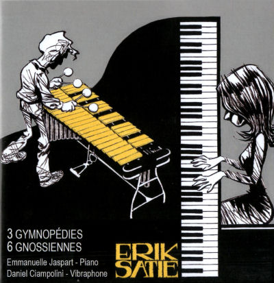 Satie - Emmanuelle Jaspart - Daniel Ciampolini