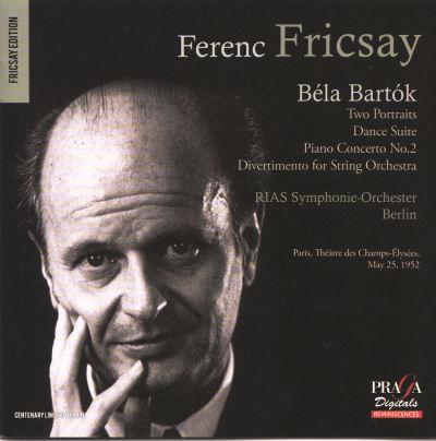 Ferenc Fricsay dirige Bartok