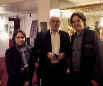 Avec Elena Sachikova & Pascal Amoyel