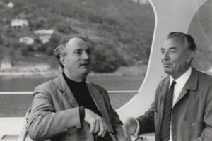 Rafael Kubelík with oboist Josef Shejbal