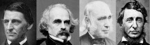 Ralf Waldo Emerson, Nathaniel Hawthorne, Amos Bronson Alcott, Henry David Thoreau