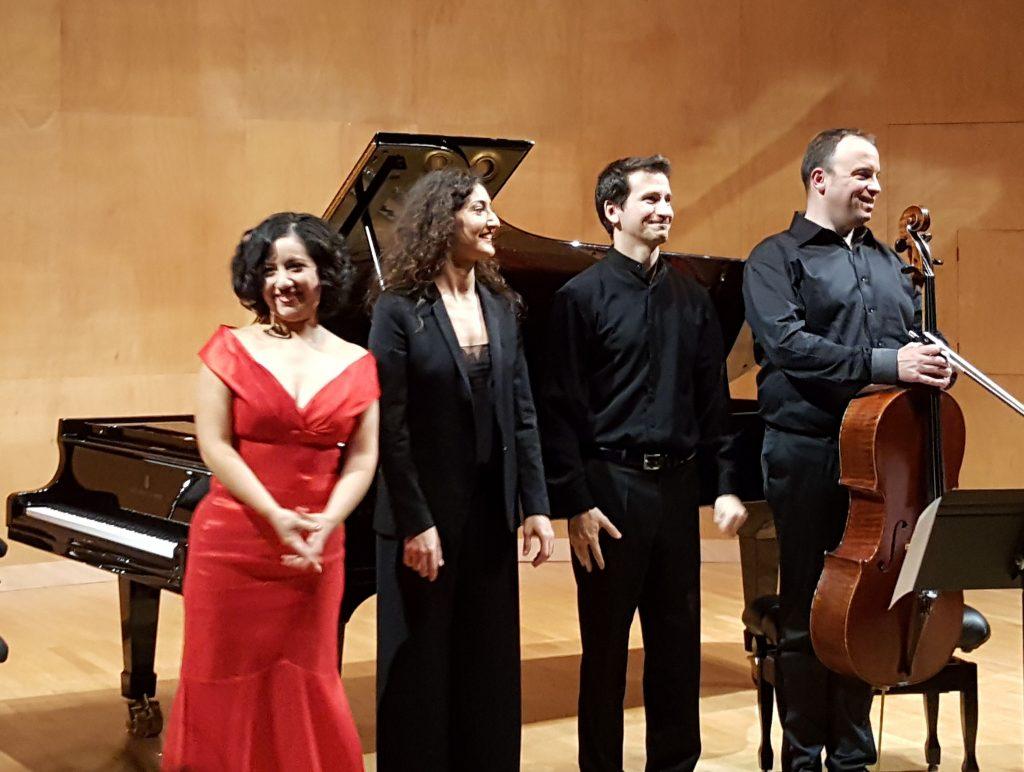 Maya Villanueva, Hélène Tysman, Romain David, Patrick Langot
