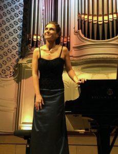 Emmanuelle Swiercz-Lamoure à Gaveau