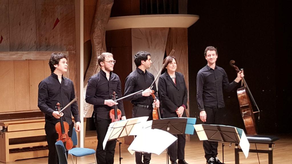 Quatuor Van Kuijk & Edith Canat de Chizy