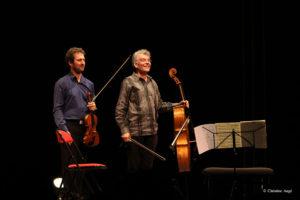 Eric Crambes et Xavier Gagnepain
